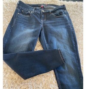 Torrid Skinny Jeans with Ankle Zippers Size 12